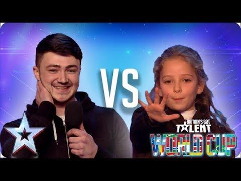 Wayne Woodward vs Issy Simpson | Britain's Got Talent 2018