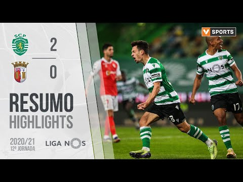 Sporting Lisbon Braga Goals And Highlights