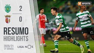 Highlights   Resumo: Sporting 2-0 SC Braga (Liga 20/21 #12)