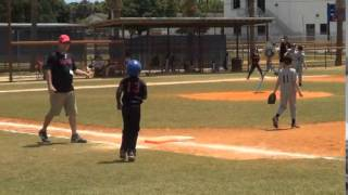 Champion Smith Baseball Highlights 6 years old Fort Pierce Little League