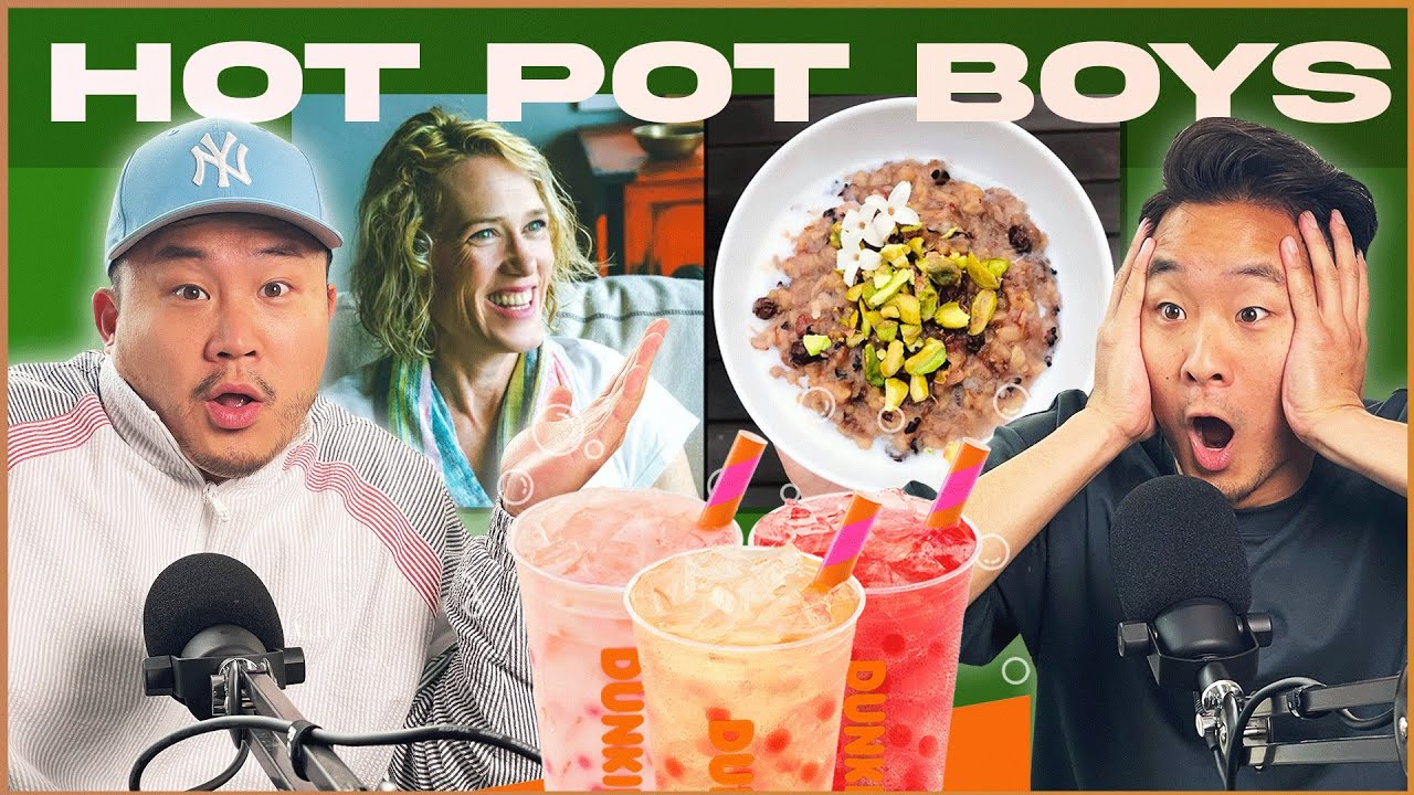 Are Karen & Dunkin' Trying To Steal CONGEE and BOBA? | HOT POT BOYS
