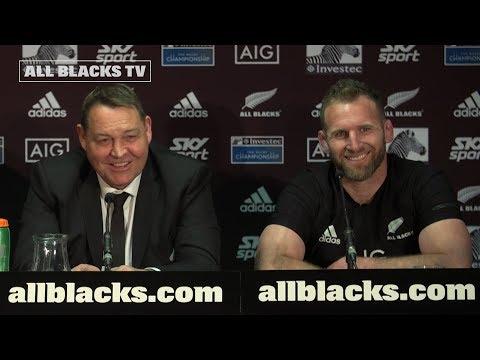 PRESS CONFERENCE: All Blacks following 40 - 12 win