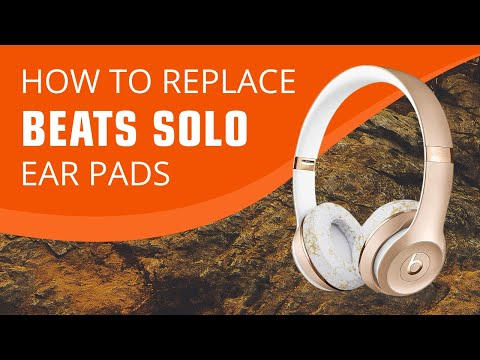 How To Replace Your Beats By Dre Solo 2 / 3 Ear Pads (Wireless)
