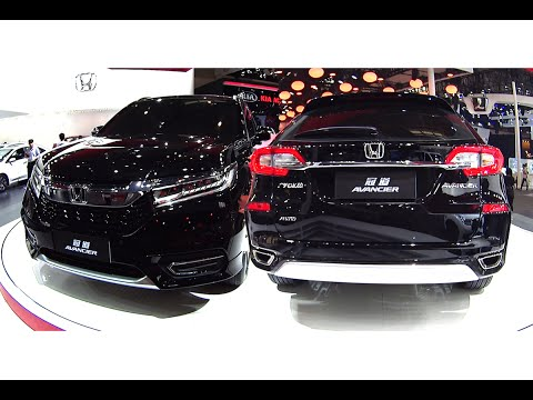 Officially NEW 2017 2017 Honda Avancier is going to be the largest SUV on the Chinese market