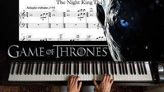 The Night King  Game of Thrones  Piano Tutorial (with Sheet)