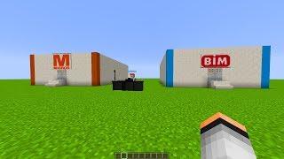 MİGROS vs BİM - Minecraft Yapı Kapışmaları