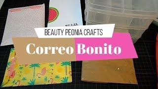 Correo bonito de Beauty Peonia Crafts