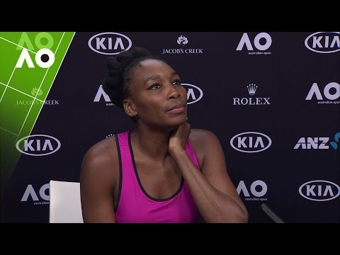 Venus Williams press conference (QF) | Australian Open 2017
