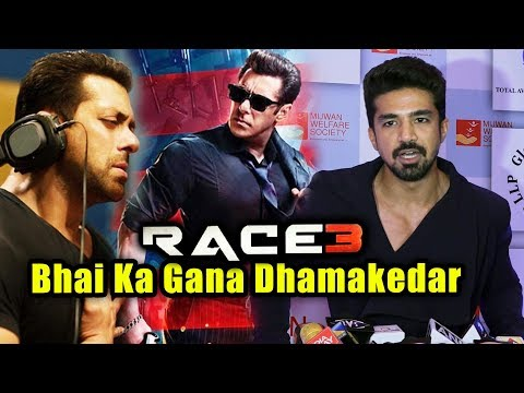 Saqib Saleem On Salman Khan Singer And Lyricist For RACE 3