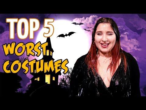 Top 5 Worst Halloween Costumes 2016 // Dark 5 | Snarled
