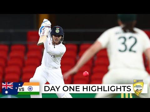Aussies miss chances as India dominate rain-hit opening day   Australia v India 2021