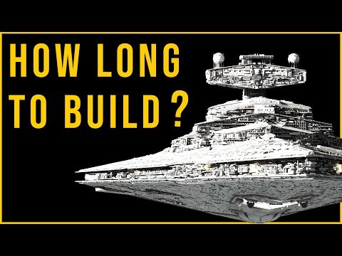 How Long Did It Take To Build Star Wars Ships? | Star Wars Explained