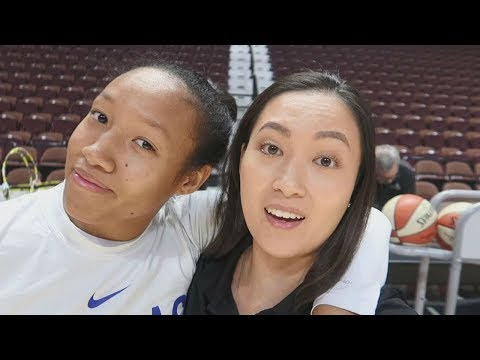 WNBA Vlog: Preseason With The Dallas Wings