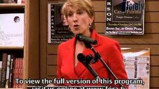 Carly Fiorina - Personal Ethics and Hewlett-Packard