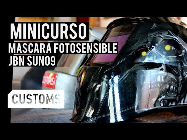 Máscara fotosensible JBN SUN09 | MINICURSO | CUSTOMS