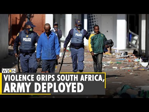 South Africa deploys army to quell violence after Jacob Zuma arrest | Pro-Zuma Protests | World News
