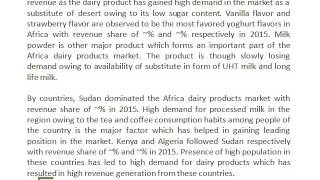 Dairy Farms in Africa, Tanzania Processed Milk Market - Ken Research.com
