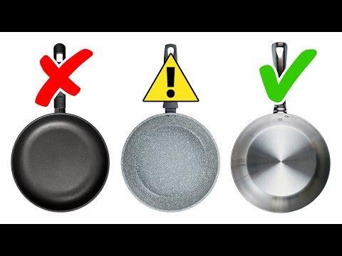 4 Tipos de Panelas Tóxicas Para Evitar e 4 Alternativas Seguras