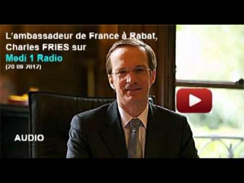 Déclaration de l'ambassadeur de France à Rabat à Medi 1 Radio