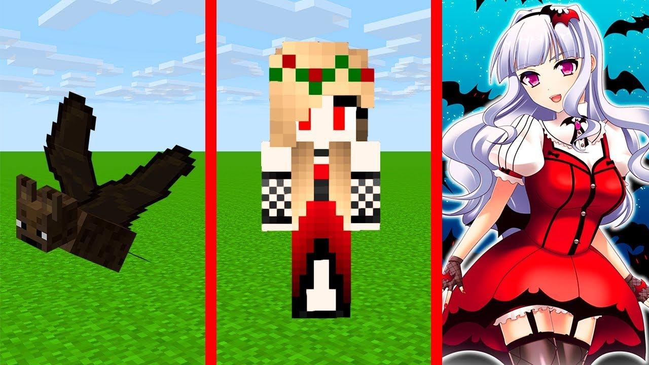 скрины в майнкрафт для девочек вампирша #1