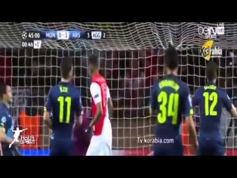 Monaco vs Arsenal 0 2 2015   All Goals Full Match Highlights   17 03 2015