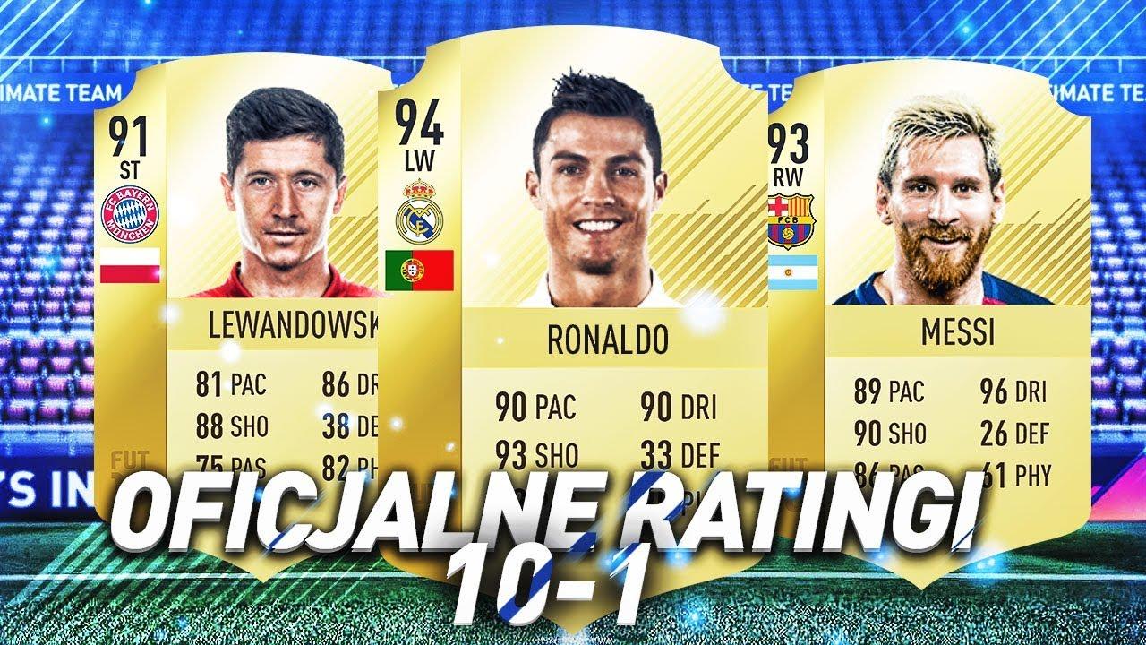 TOP 10 KART FIFA 18!!!!!!