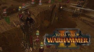 Total War: Warhammer 2. Прохождение ТЭ: Осада крепости Скавенов