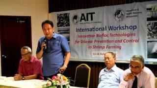 AIT Workshop on Aquamimicry for Sustainable Shrimp Farming