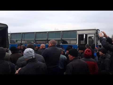 Артёмовск. Автобус с наёмниками. 7