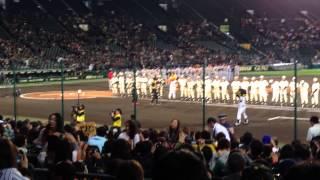 14/11/11 阪神巨人連合@甲子園 スタメン発表(Part2)