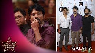 Vishnuvardhan Krishna SJ Suryah meet up   Galatta Nakshatra Awards