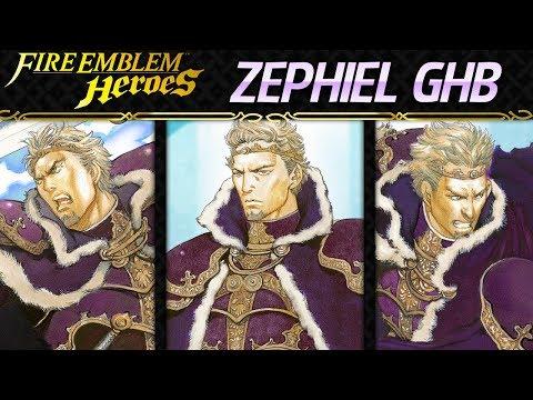 Fire Emblem Heroes - Grand Hero Battle: Zephiel INFERNAL+All Quests - F2P Friendly Guide