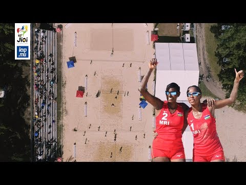 JIOI 2019: le Beach Volley aux jeux