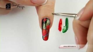 Дизайн ногтей. Алые маки(Дизайн ногтей. Алые маки., 2010-06-26T13:48:26.000Z)