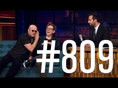 Вечерний Ургант - Майкл Рукер/Michael Rooker иДжеймс Ганн/James Gunn. 809 выпуск от27.04.2017