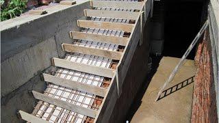 видео Металлическая лестница: особенности конструкций и советы по изготовлению