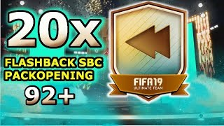 20x FLASHBACK SBC PACKOPENING| (92+) IBRAHIMOVIC WALKOUT| COMMUNITY VIDEO| DIBOSQUAD FIFA 19