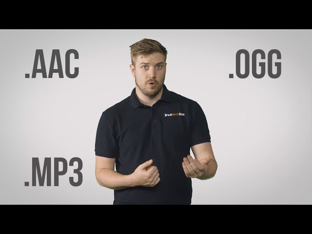 Audio File Formats - MP3, AAC, WAV, FLAC