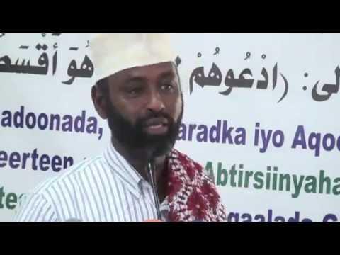 Beesha Majeerteen oo Garoowe kaga shirtay nasabaddeeda qabiil ahaan