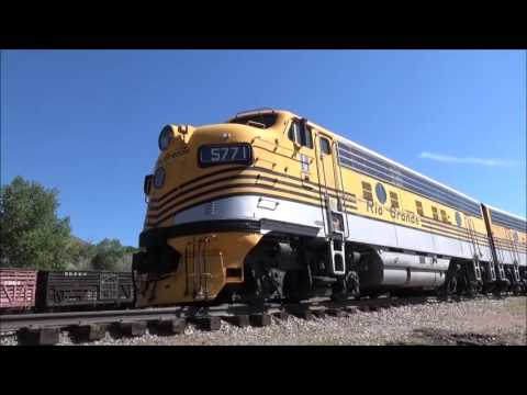 Tour of the Colorado Railroad Museum | the best narrow gauge museum in the US