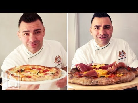 How to make Neapolitan Pizza at home - 2 doughs by Davide Civitiello