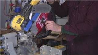 Home Help : How To Change A Blade On A Compound Miter Saw
