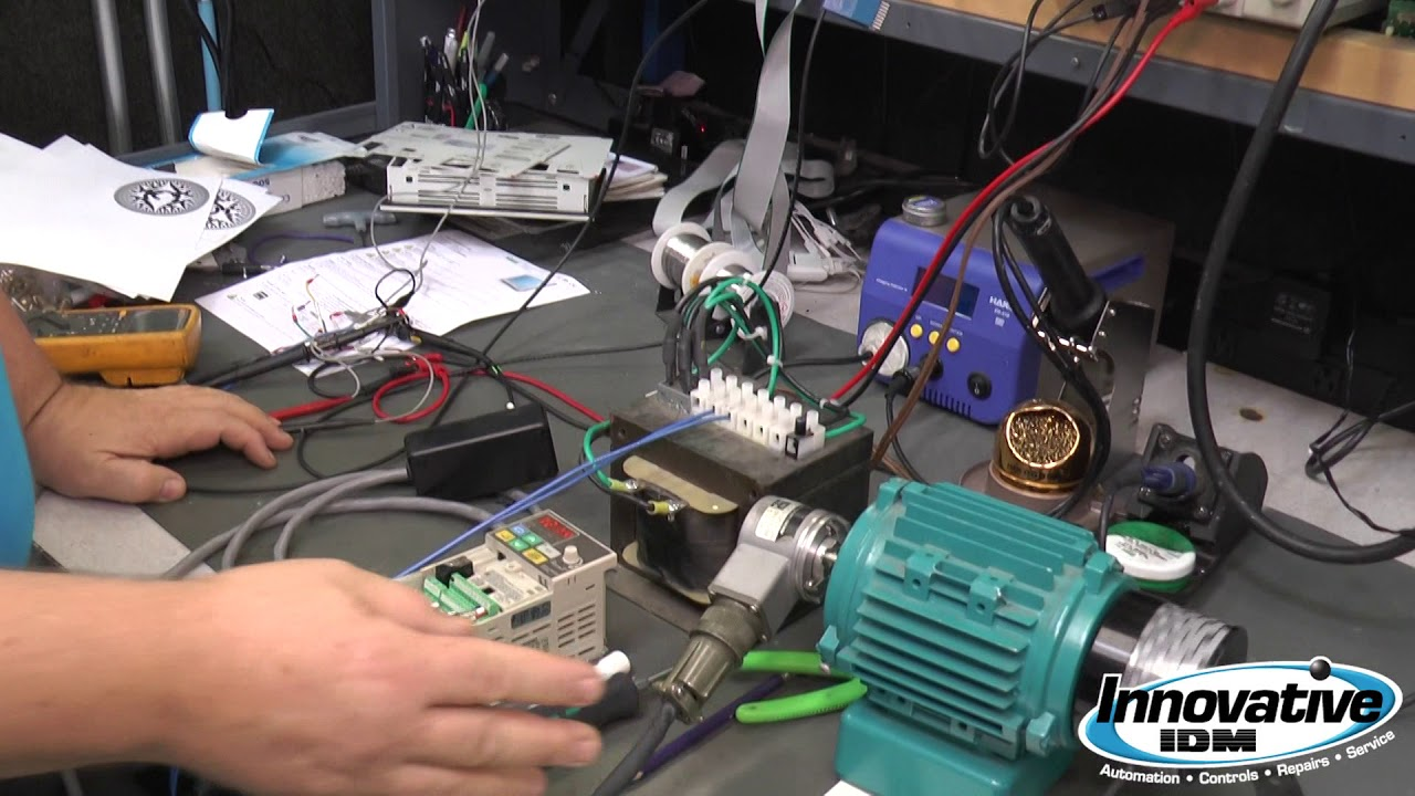 Why Encoders Fail Industrial Electronics Repairs Youtube Electronic Wiring