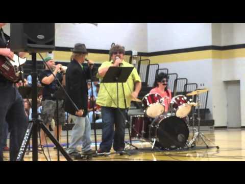 Lake forest talent show ( teachers part) 2015
