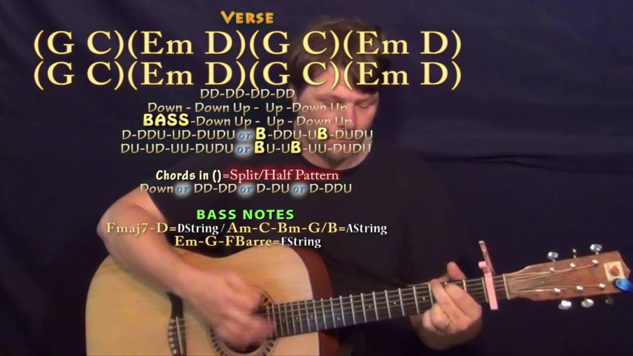 Sweatshirt (Jacob Sartorius) Guitar Lesson Chord Chart - Capo 1st