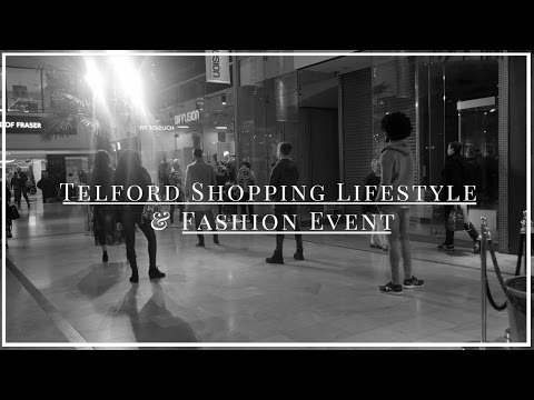 Telford Town Centre Lifesytle & Fashion Event