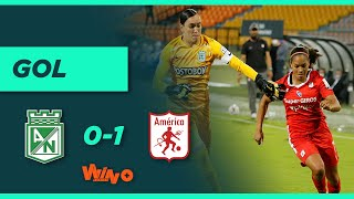 Nacional vs. América (0-1)   Liga Femenina 2020 - Cuartos de final ida