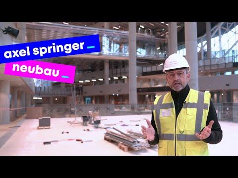 """Das """"Zuhause"""" der Zukunft: Der Axel Springer Neubau ist fast fertig!"""