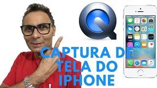GRAVANDO A TELA DO IPHONE NO MAC COM QUICK TIME PLAYER