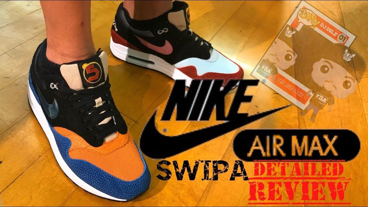 De'Aaron Fox Nike Air Max 1 SWIPA